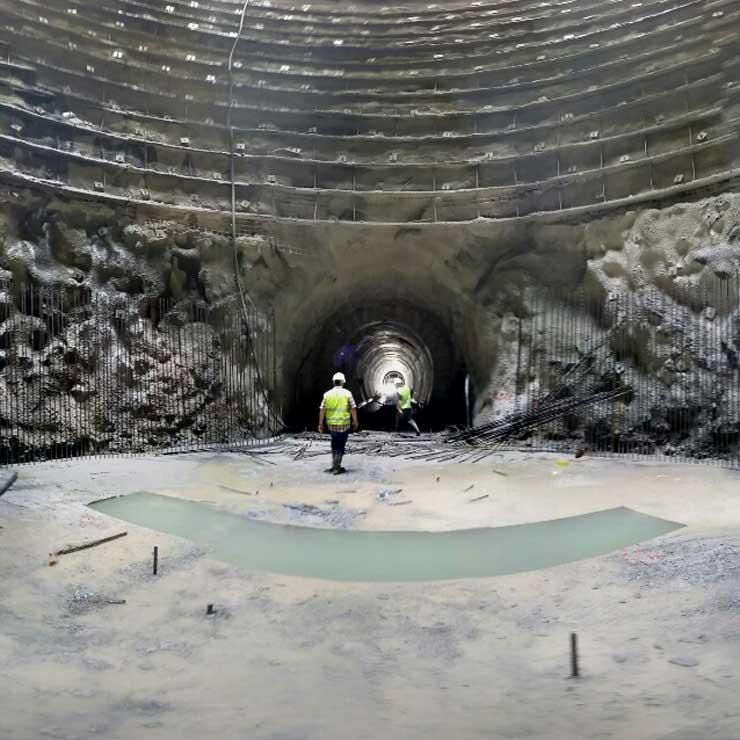 Karayolları 7. Bölge Müdürlüğü Ordu Mesudiye Koyulhisar Arası Tünel İşleri Kesim II
