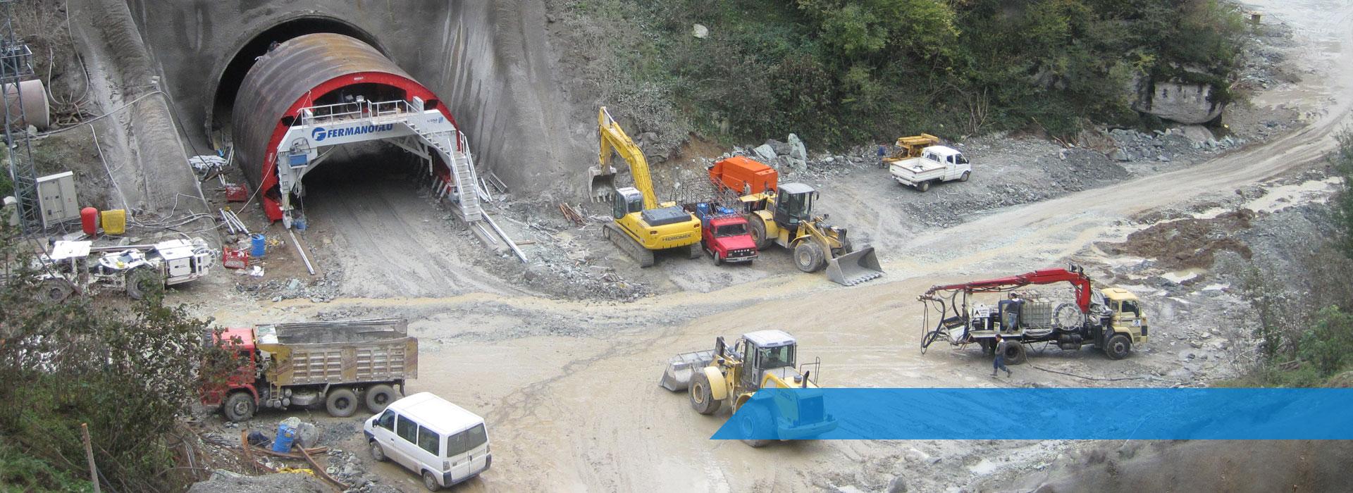 Ordu Ulubey Yolu Tünel Projesi